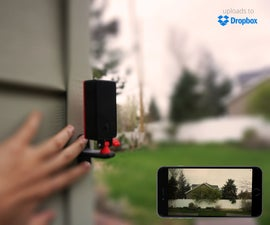 Pigeon: a 3D Printed Cloud Camera That Uses the New Raspberry Pi Zero W