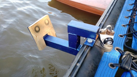 Attach Motor and Mount to Hobie Cat