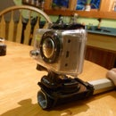 How to make a Gopro pole mount with a lacrosse shaft