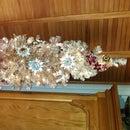 Blingy Brooch Christmas Tree
