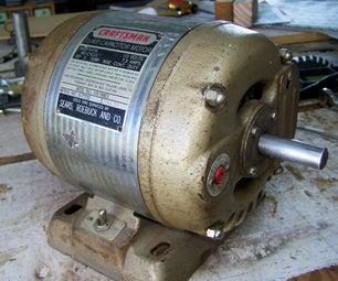 Make an Electric Motor Run Again
