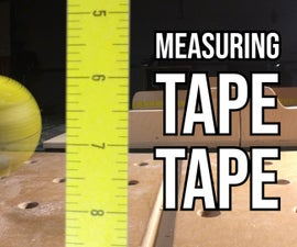 Wicked Fast Increments on Table Saw and Drill Press Using Sacrificial Measuring Tape Tape