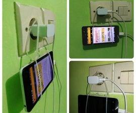 Phone Charging Hanger