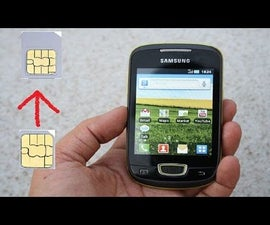 Life Hack How to Use Nano Sim Into Normal Phone