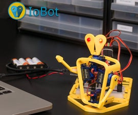 How to Make a Mobile Phone and Computer Controlled 3D Printed Robot With Arduino - IoBot.