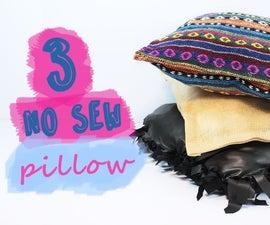 How to Make a No Sew Pillow