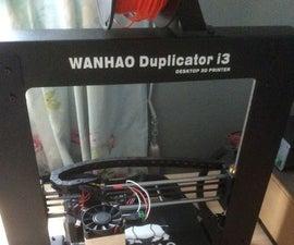 Adding an Endurance Laser to a Wanhao Duplicator I3