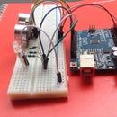 Ultrasonic Distance Sensor Arduino HC-SR04