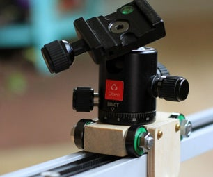 Simple Camera Dolly for Time-lapse Photography