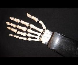 MK: DIY Moving Skeleton Hand