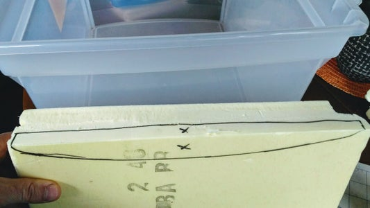 Scribed Edge - Fit to Bin