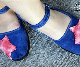Tie Dye Drop Coth Shoes