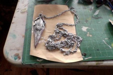 Chained Kunai (spear)