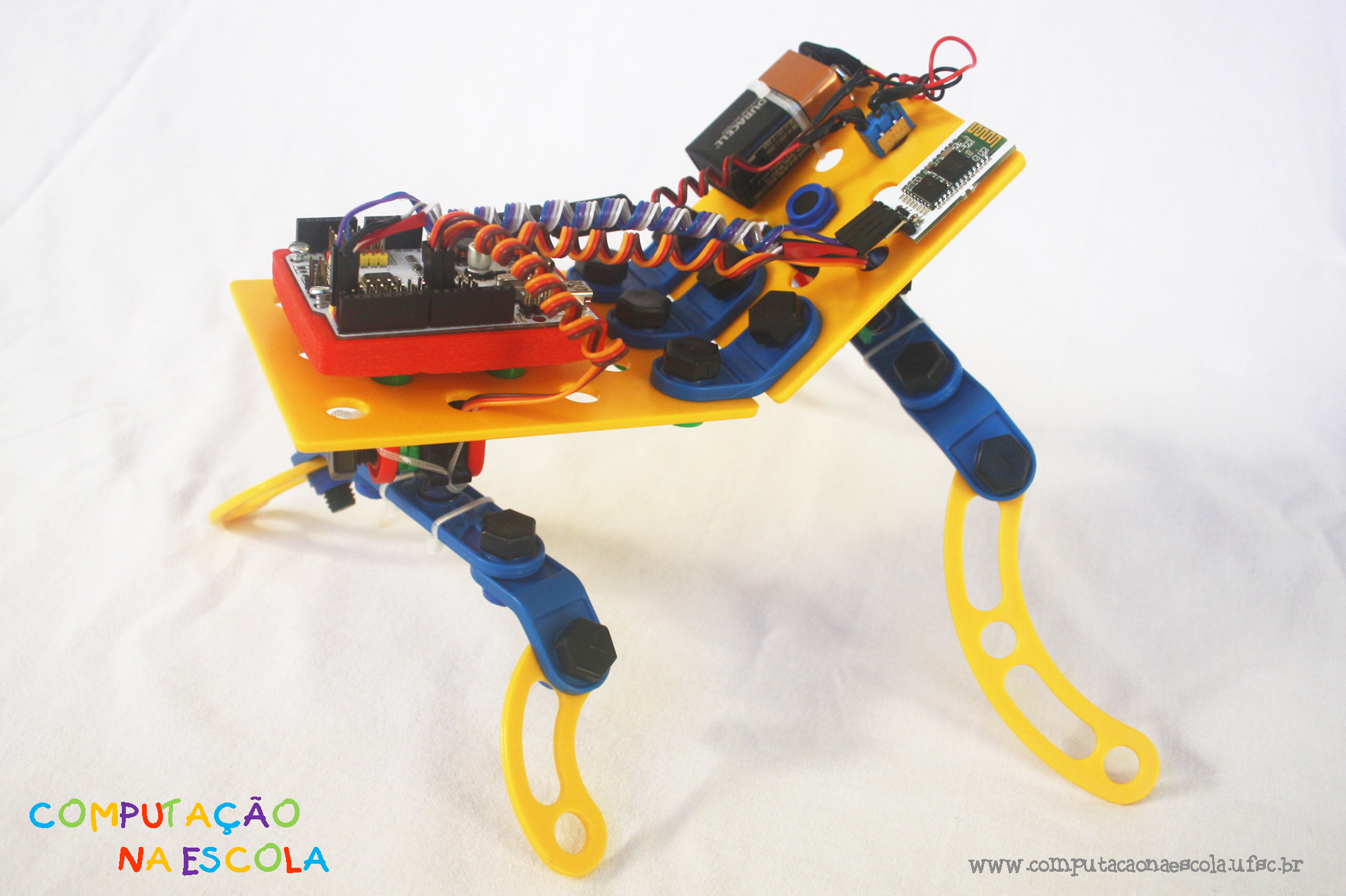 Picture of Mobile Robotics With Scratch: How to Integrate Scratch, Arduino and Bluetooth