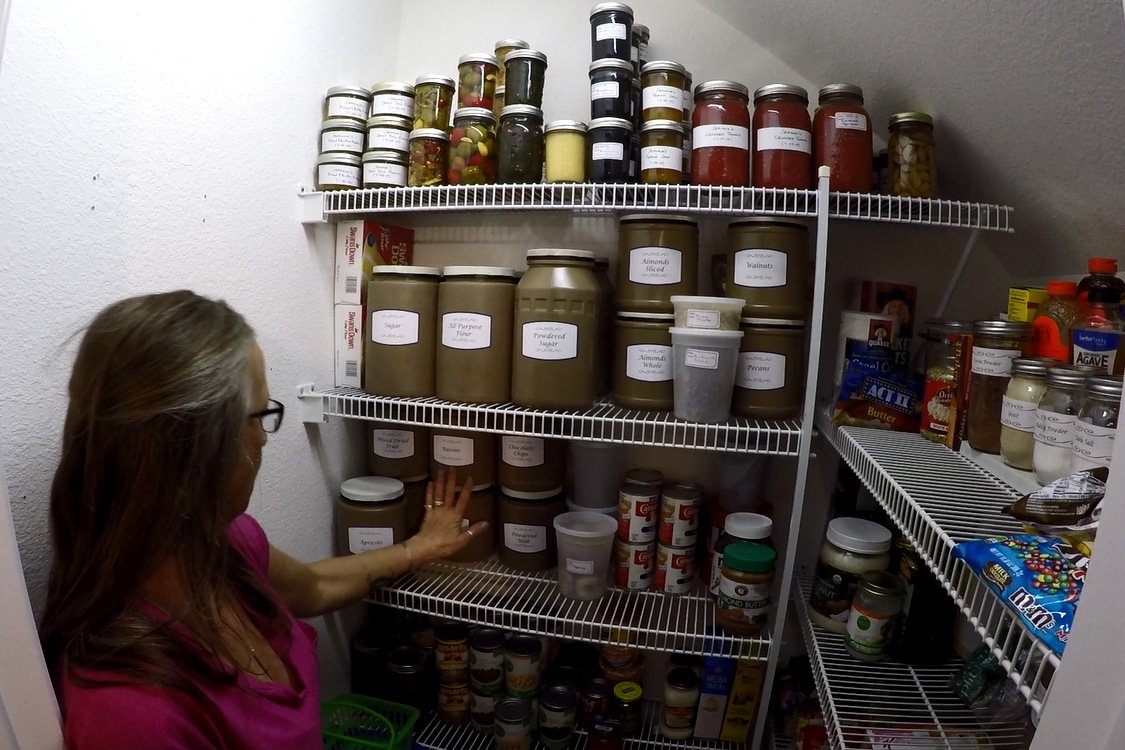 Picture of Finished Containers in My Pantry