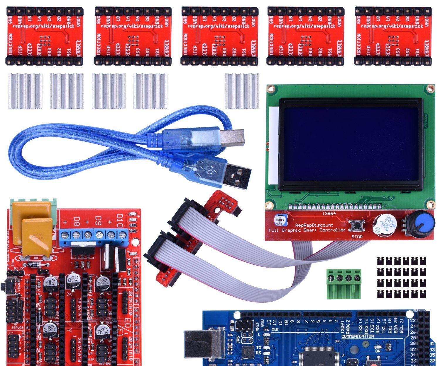 Wiring 3d Printer Ramps 1 4 12 Steps With Pictures