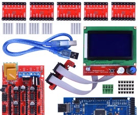Wiring 3D Printer RAMPS 1.4