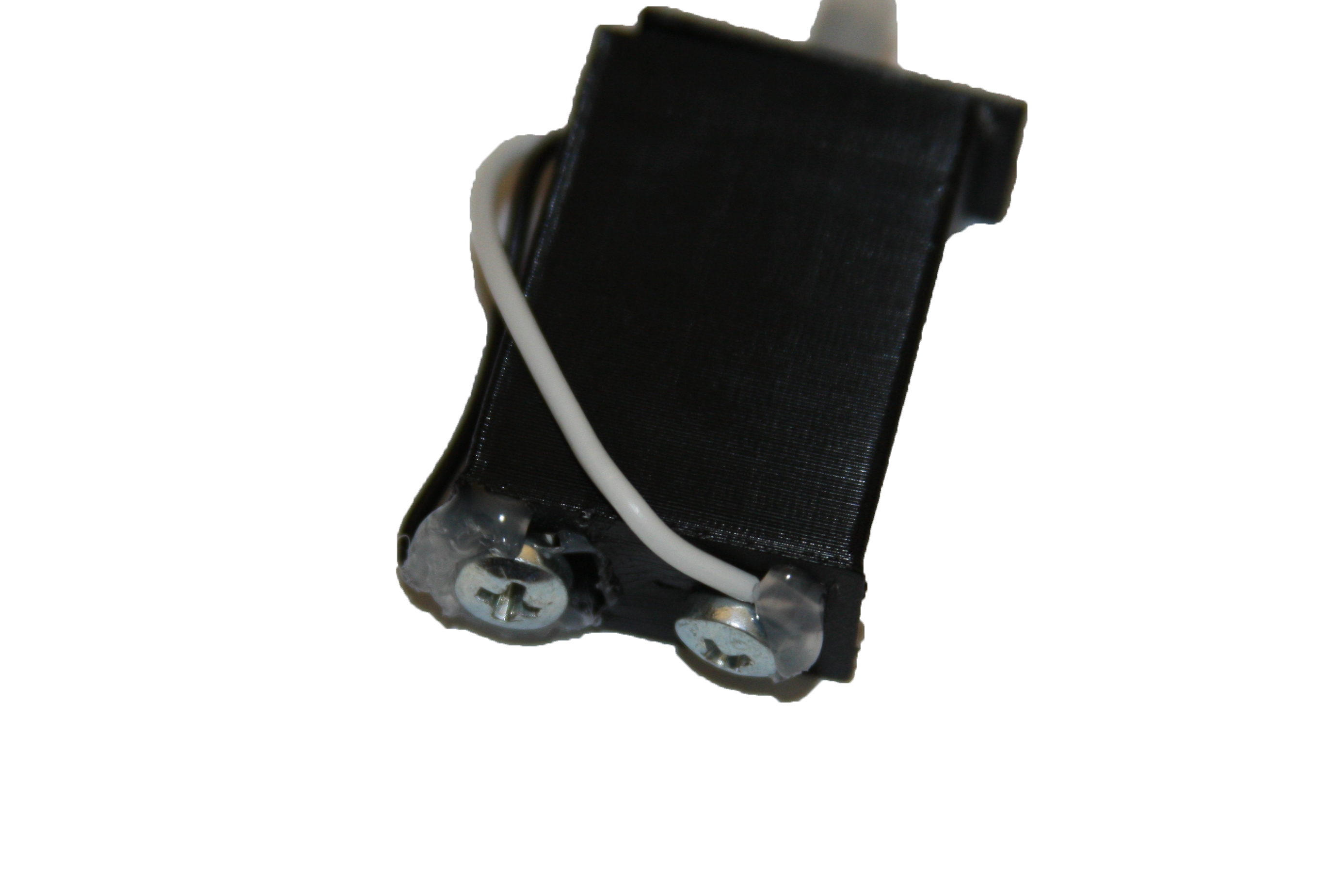 Picture of Attach Wires and Glue Screws in Place