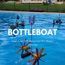 BottleBoat - Low Cost DIY Recycled RC Water Vehicle
