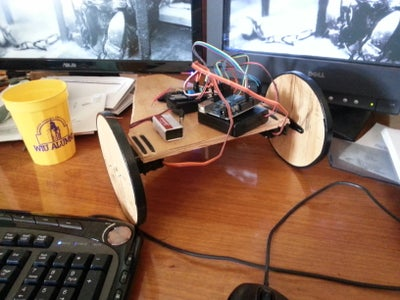 Tank Steering W/Continuous Rotation Servos