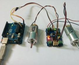 Arduino - Grove I2C Motor Driver