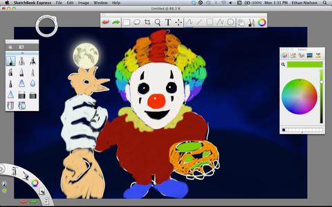 Add Something Creepy... Like a Creepy Clown!