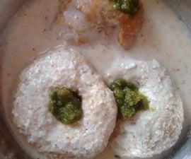 Indian Yogurt Vada-Dahi Vada