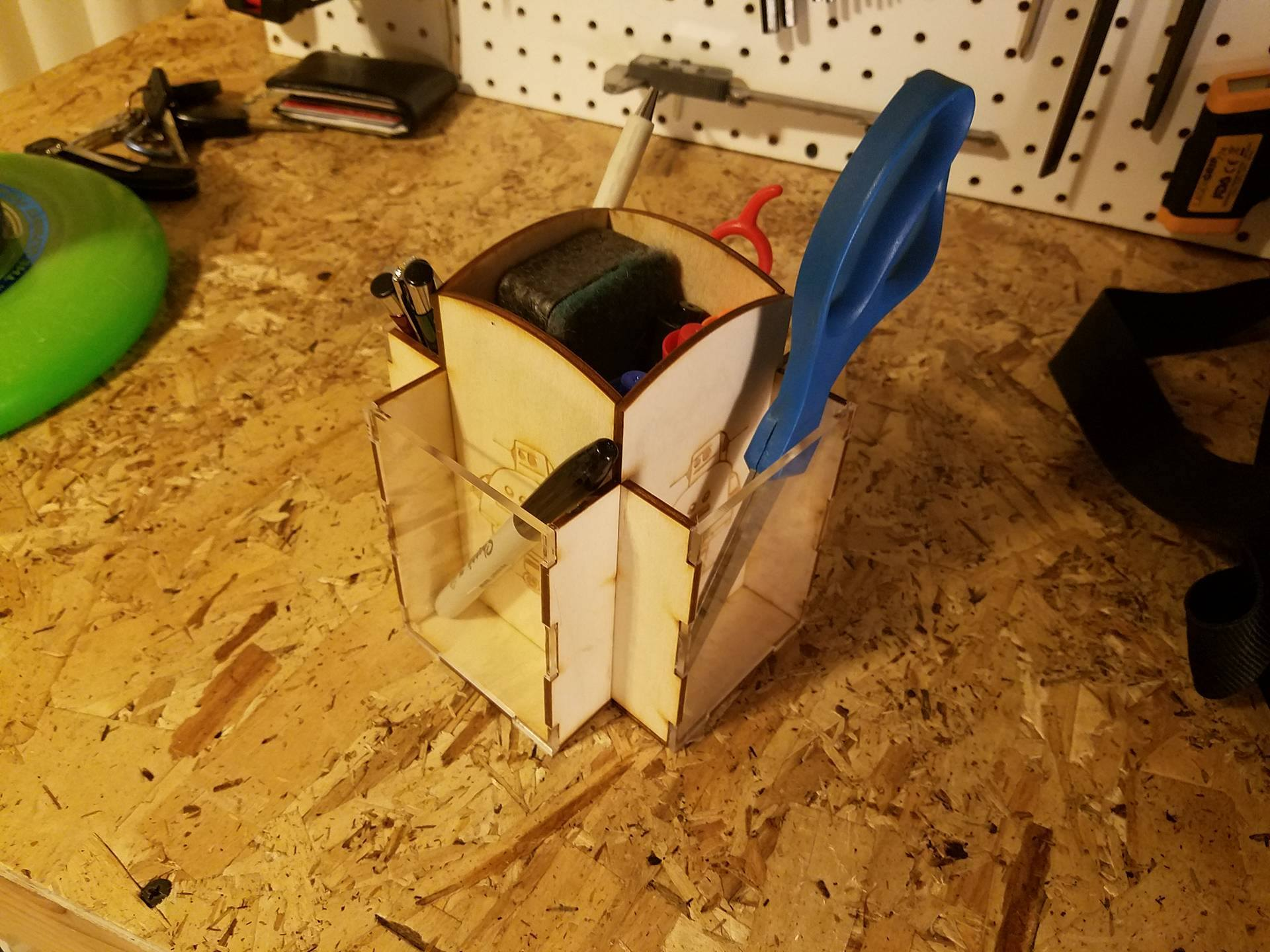Picture of Laser Cut Remote Caddy