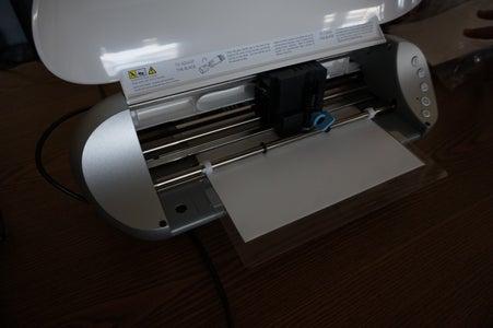 Preparing and Cutting the Adhesive Vinyl