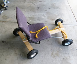 Office Chair Racer With Articulated Steering