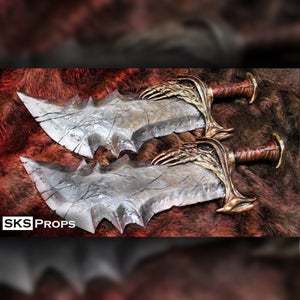 God of War Blades of Chaos Hand Sculpted and Resin Cast SKS Props
