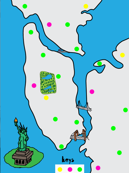 Picture of Creating Guardians of the City Locater