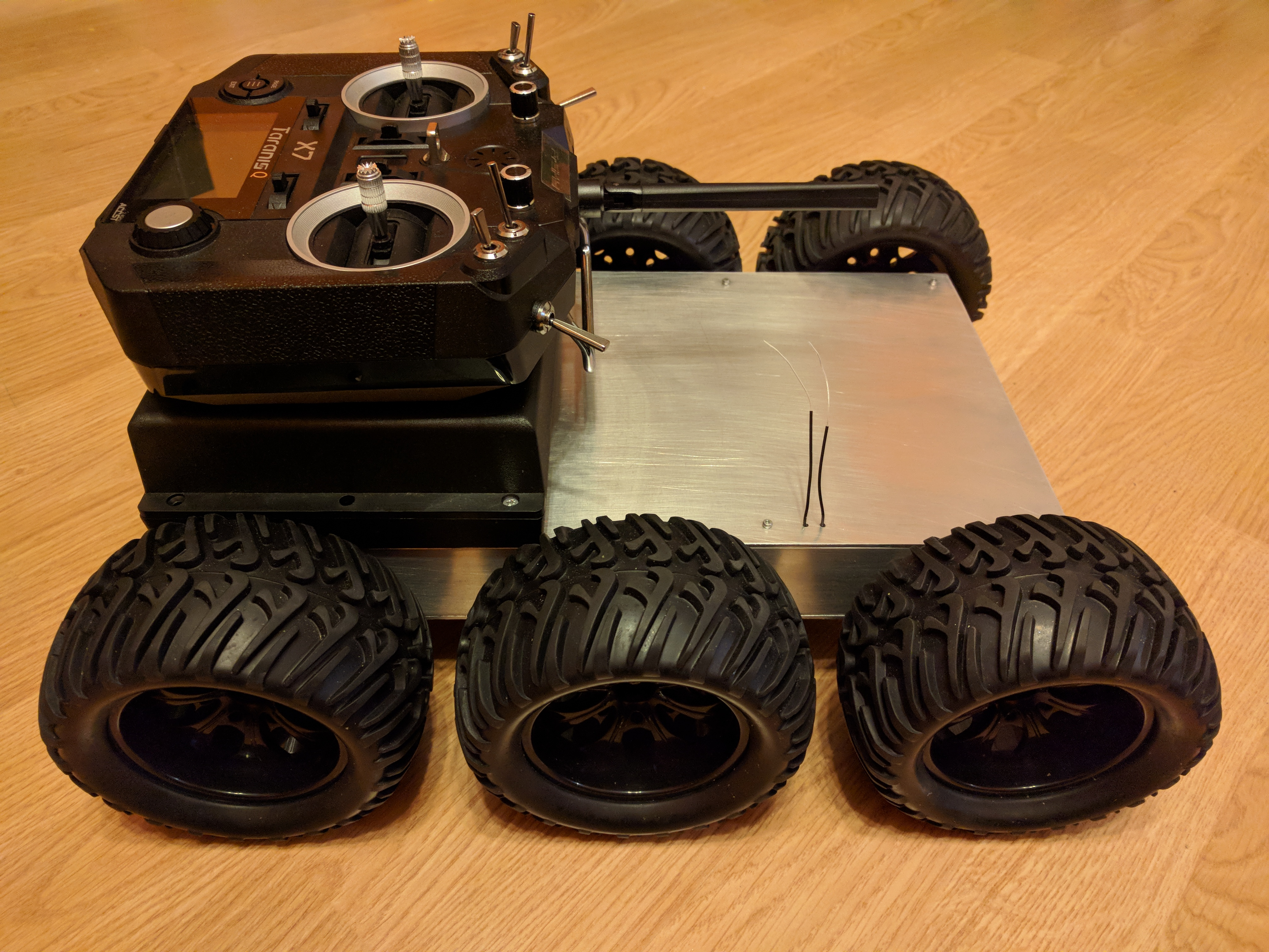 Picture of Testing of Mobile Robot