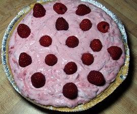 Diabetic Friendly Raspberry Cream Pie