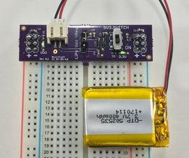 LiPo Battery Breadboard Power Supplies