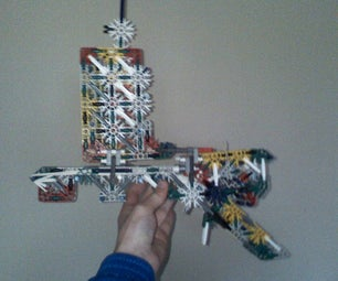 Michiels Knex Rubber Band WITH Ammo Gun