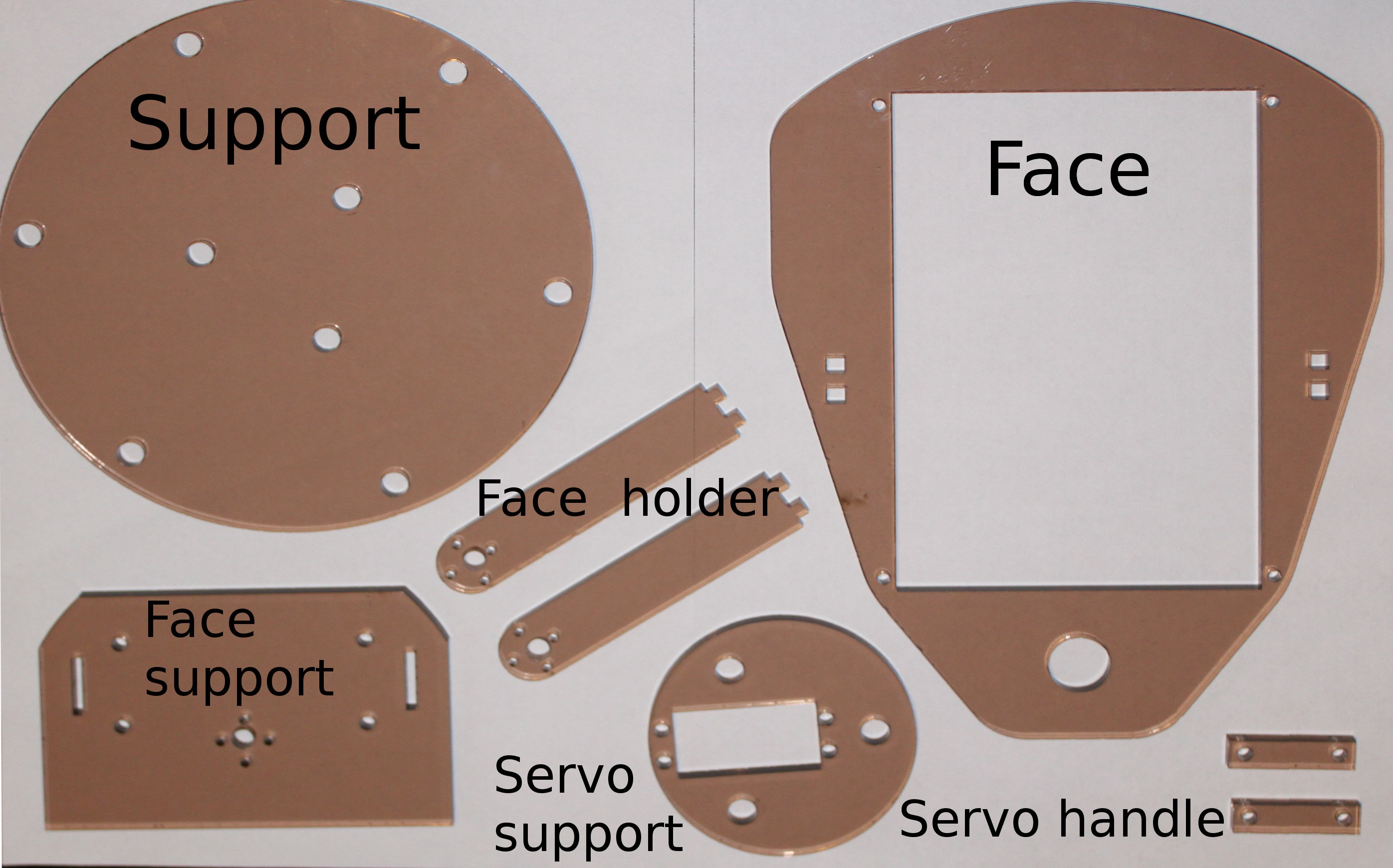 Picture of Preparing Parts From Plexi