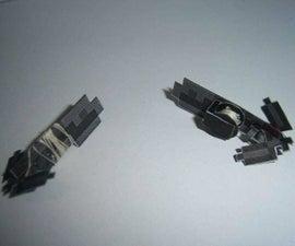 Papercraft Grappling Gun