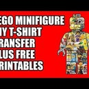 LEGO Mini-figure T-Shirt Transfer Plus Free Printables
