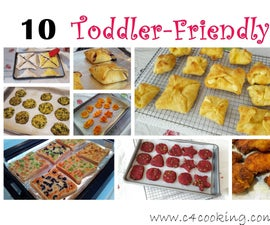 10 Easy Snacks for Toddler & Family ( 1 Snack for ALL :)