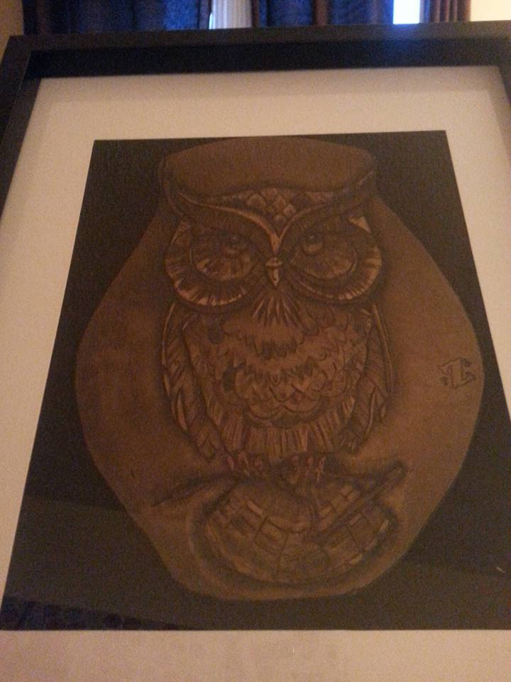 Picture of Owl Carving