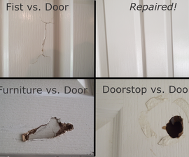 How to Fix a Hole in a Hollow Core Door