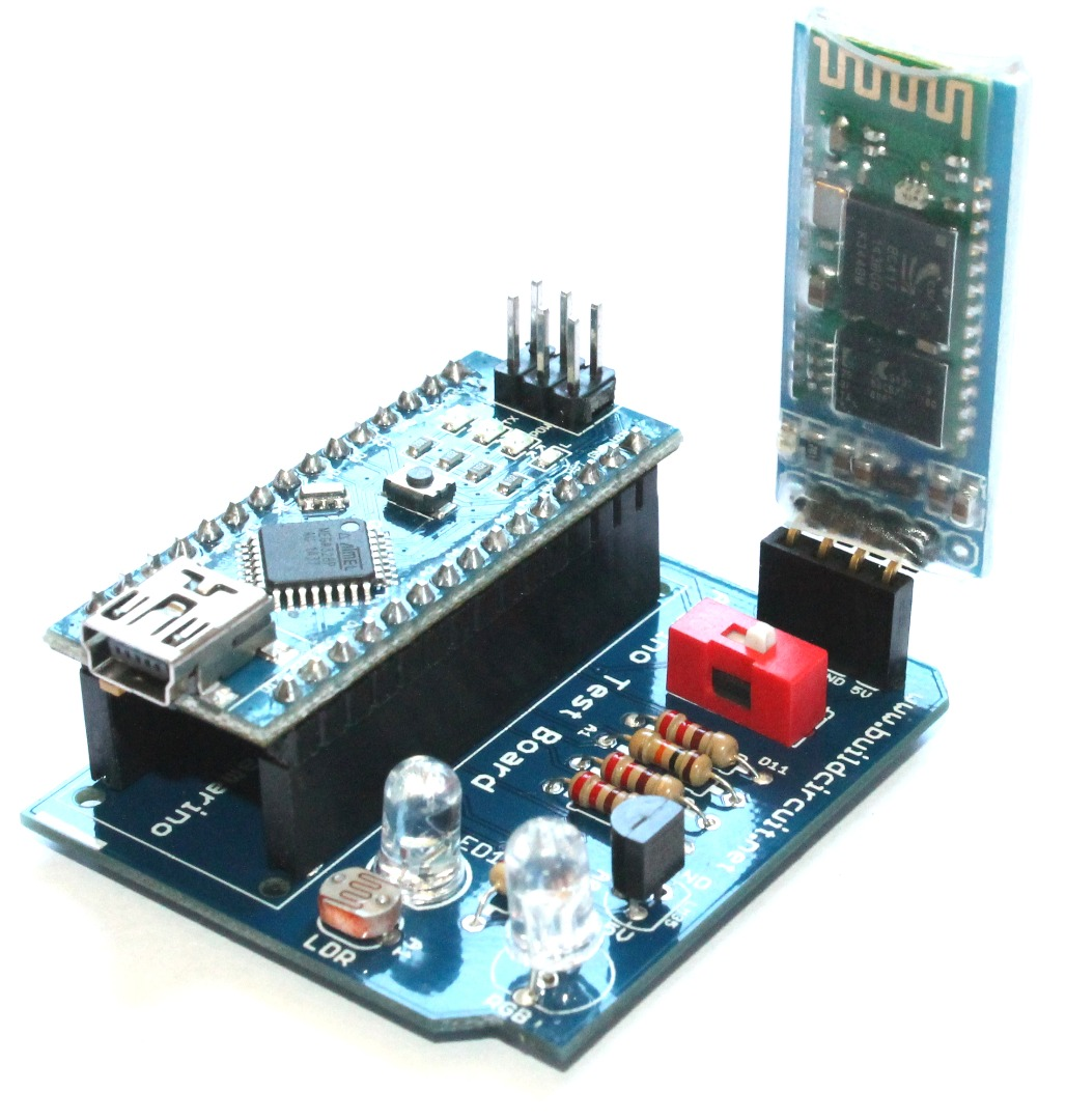 Picture of Control RGB LED Using Amarino Nano 1.0