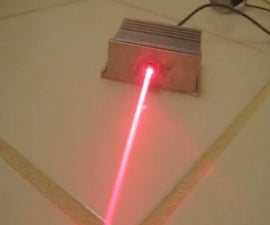 Laser from dead computer