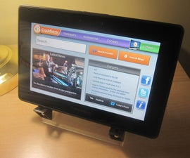 IPad Mini Kindle Fire or Playbook Tablet Stand