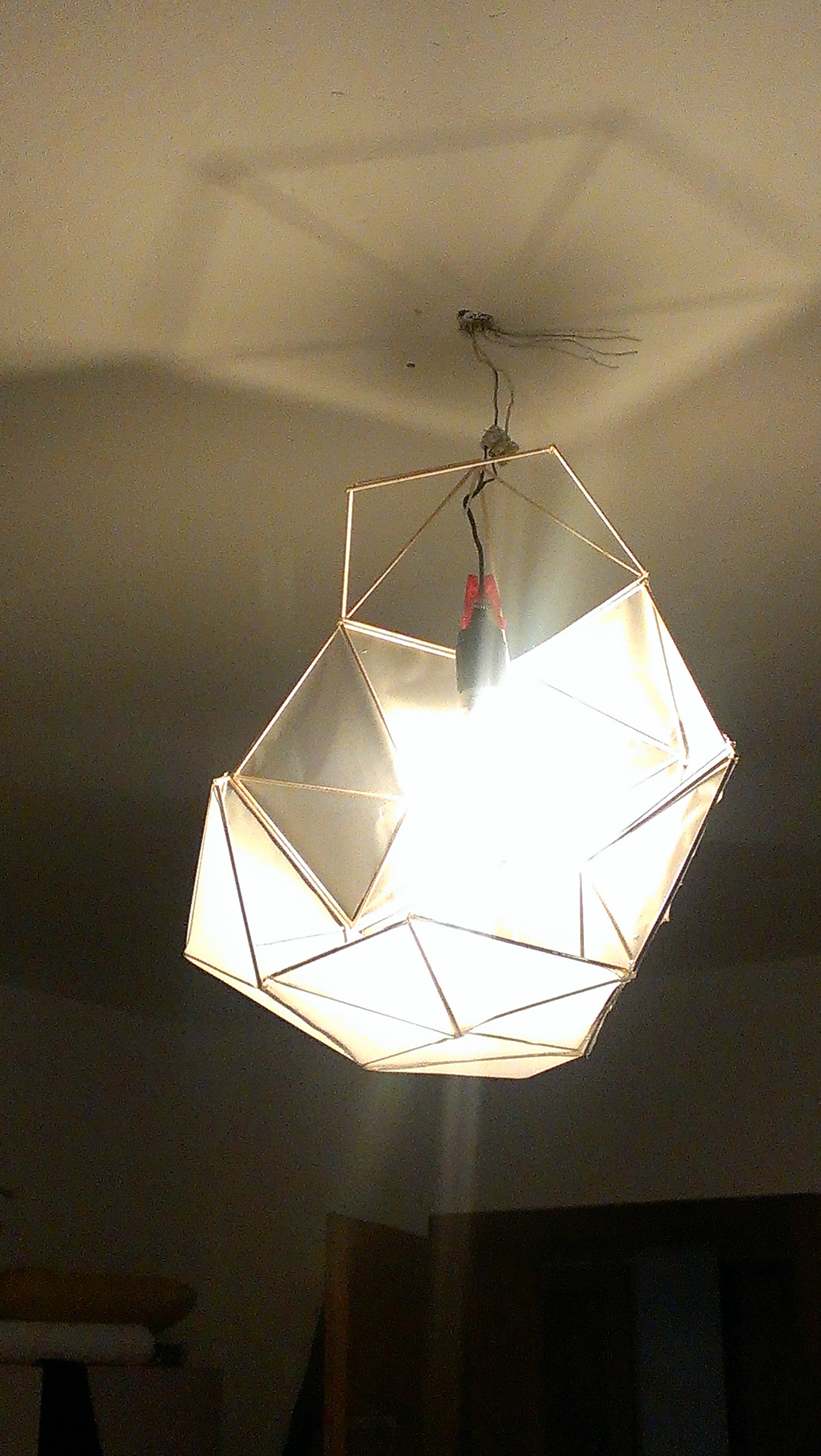 Picture of Your DIY Pentagon Lamp