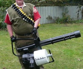 TF2 Heavy Weapons Guy Costume