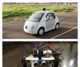 Self Driving Car Using Arduino(autonomous Guided Vechicle)