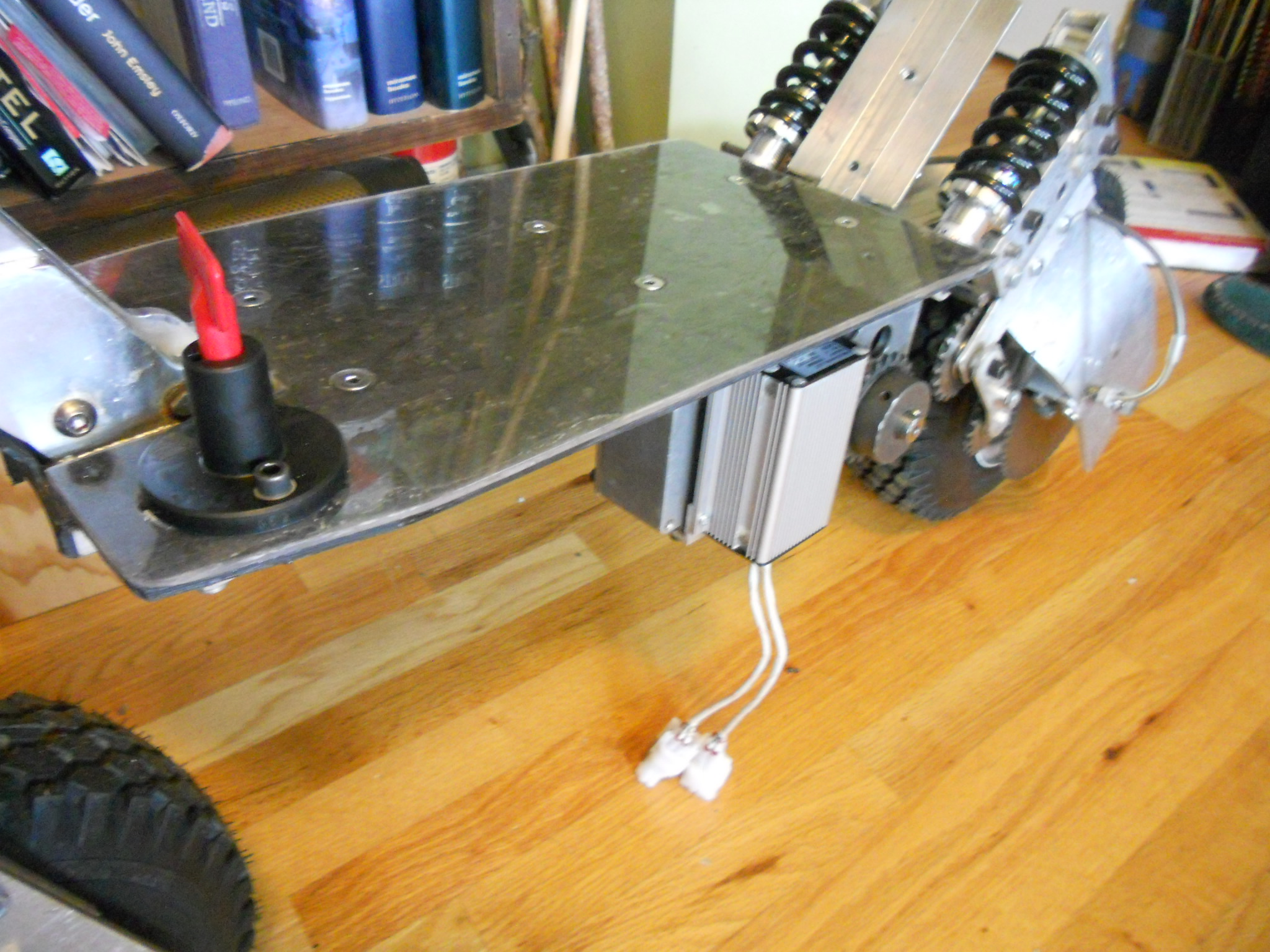 Picture of Electronics Mounting and Wiring