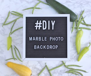 Marble Photography Backdrop